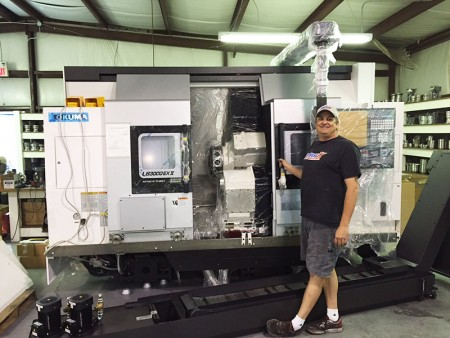 Van-K New Okuma CNC Machine
